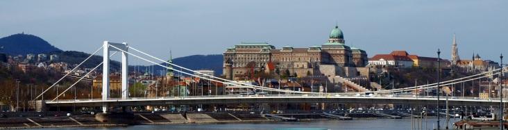 Budai Vár és az Erzsébet híd