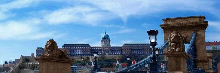 Budaer Burg und die Kettenbrücke