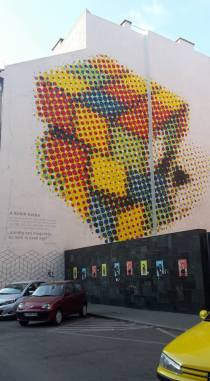 Street Art - Rubik kocka